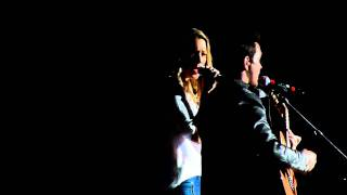 Andy Grammer ft. Colbie Caillat - Fine By Me Live @ Freedom Hall - Johnson City, TN