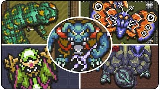 The Legend of Zelda A Link to the Past - All Bosses (No Damage)