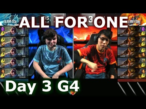 CIS (Yasuo) vs Japan (Jarvan IV) One For All Mode | 2016 LoL IWC All-Stars Day 3 | FIRE vs ICE
