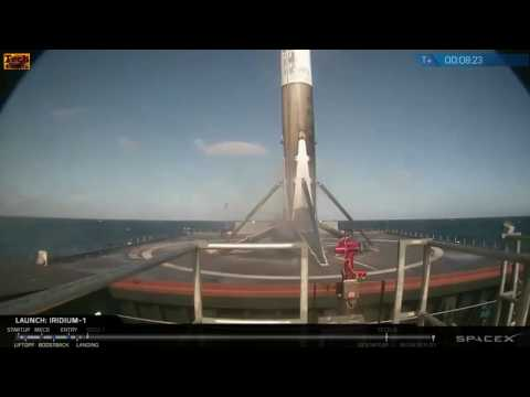 SpaceX successfully returns to launch with Iridium-1 NEXT Falcon 9 mission