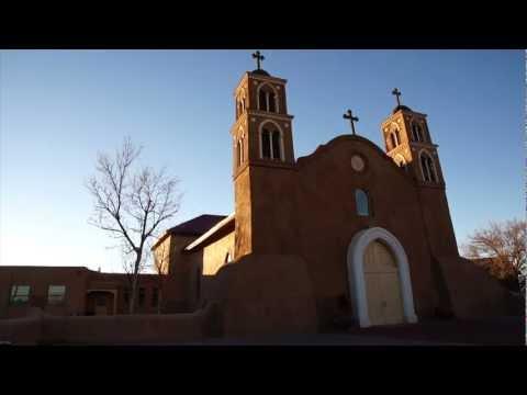 San Miguel Catholic Church Time-lapse Socorro New Mexico