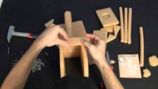 Real Construction How2 Starter Set Birdhouse 2