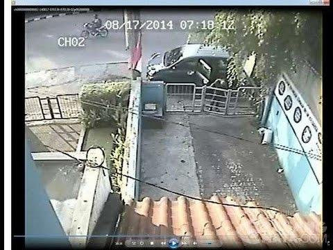 PROFESIONAL, Detik-detik Perampokan Rumah Terekam CCTV - VIDEO BERITA TERKINI