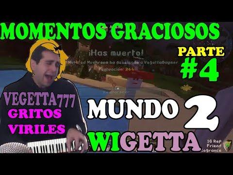 #MUNDOWIGETTA2 #4 GRITOS VIRILES DE VEGETTA777 MOMENTOS GRACIOSOS