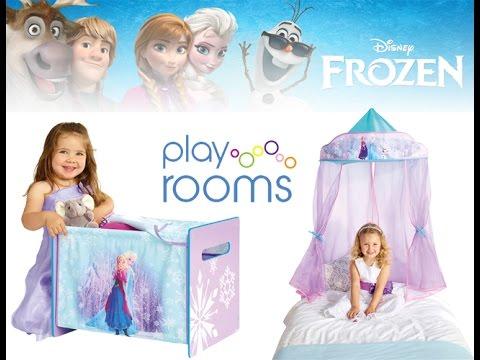 Disney Frozen Bedroom - YouTube