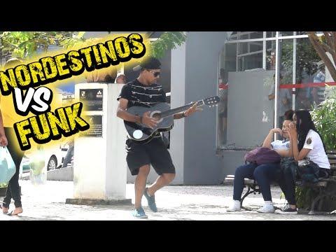 NORDESTINOS REAGINDO AO FUNK II - PEGADINHA DO TOBA #20