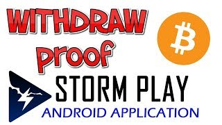 Earn free bitcoins or ethereum || Storm Play Android App || by Crypto Phoenix