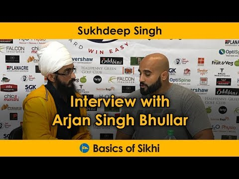 How Sikhi inspired me to the UFC - Sukhdeep Singh interview with Arjan Singh Bhullar
