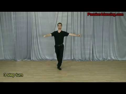 Dance turns for beginners Part 1 of 3 - Latin dance technique
