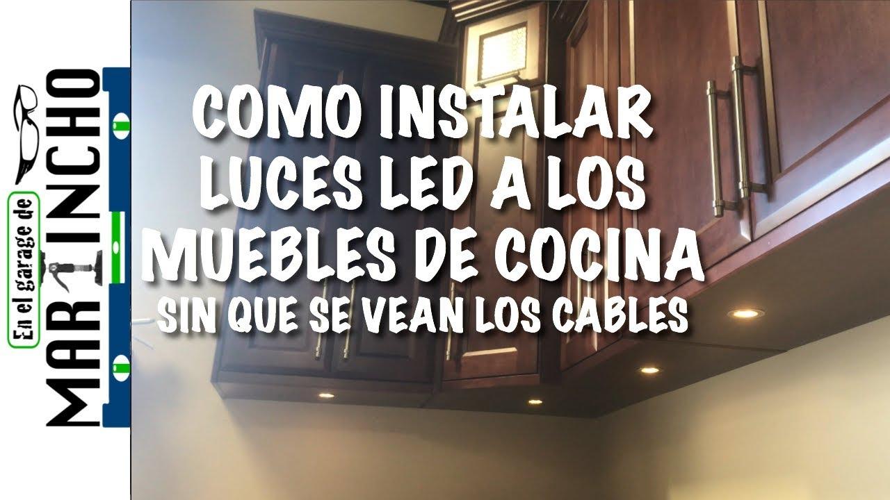 Muebles de cocina con luz LED