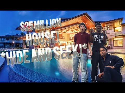 Download Youtube: HIDE AND SEEK IN A CRAZY $25 MILLION DOLLAR HOME!