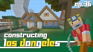 Minecraft Xbox 360: Constructing Los Dangeles - Episode 36! (TNT Mountain!)