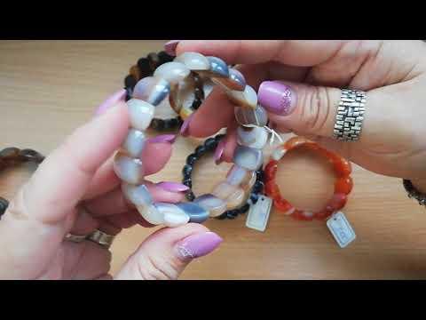 Мини-обзор очаровательных браслетов из натуральных камней