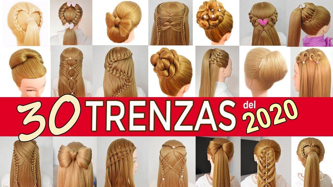 30 Peinados Para Ano Nuevo Con Las Mejores Trenzas Para El 2018 De