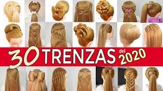 30 peinados para año nuevo con las mejores trenzas para el 2018 de fiestas niñas graduacion
