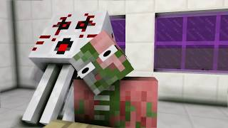 Monster School : A QUIET PLACE & GRANNY VS JOHN CENA CHALLENGE - Minecraft Animation