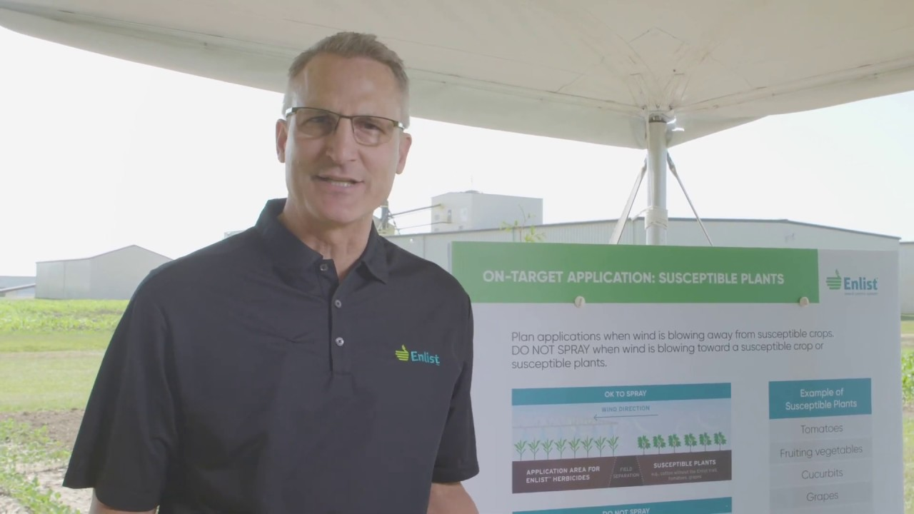 Monitor Weather Conditions to Make Successful Enlist™ Herbicide Applications