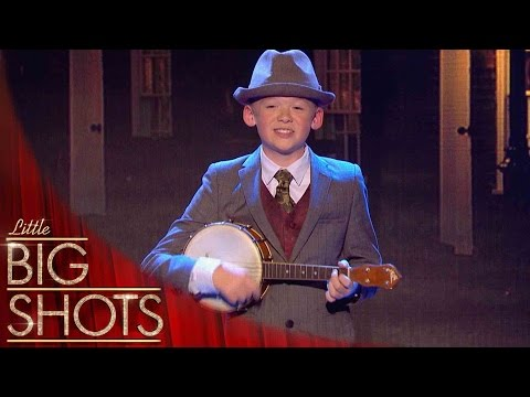 Mini George Formby sends crowd wild with 'Cleaning Windows' | Little Big Shots