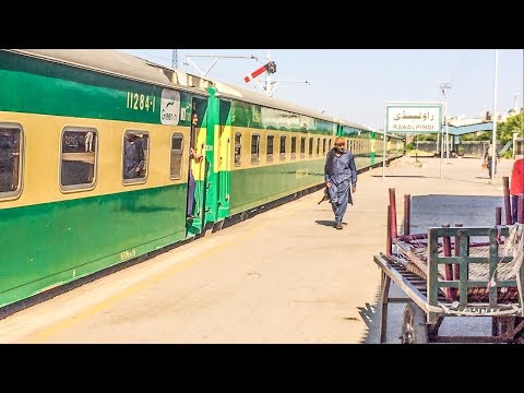 Rawalpindi Revisited After Many Days | Greenline Departs Smoothly | Pak Railway