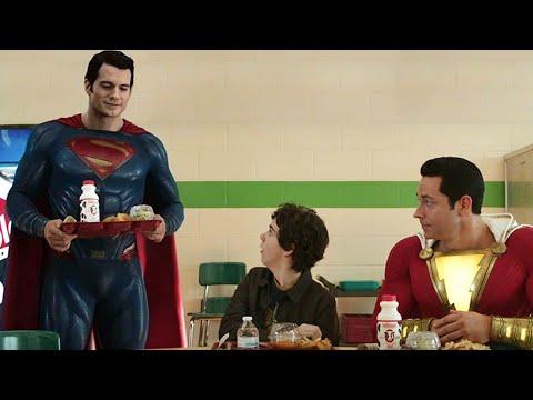 Justice League Shazam Teaser Livestream and Superman Explained