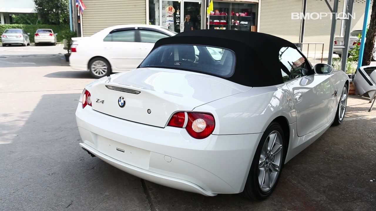 BMOPTION : SmartTop for BMW Z4 E85 Roadster  YouTube