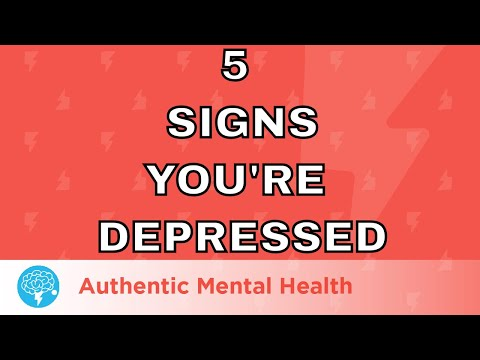 5 Signs You Might Be Depressed
