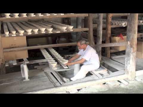 瓷碗的生产过程[景徳镇]