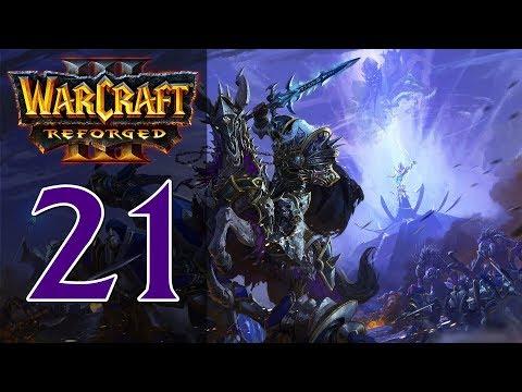 Прохождение Warcraft 3: Reforged #21 - Глава 7: Осада Даларана [Нежить - Путь Проклятых]