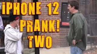 NEW iPHONE 12 PRANK - The Latest iPhone 12 update