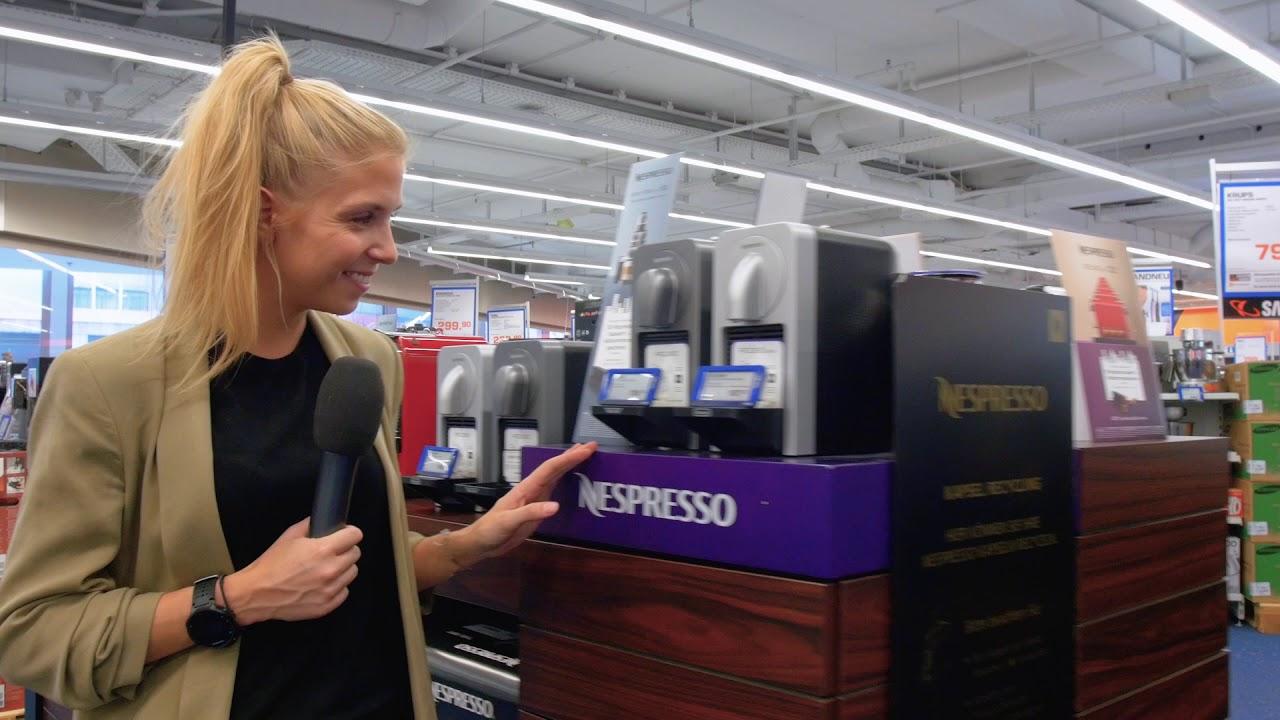 Kaffeemaschinen und coole Kühlschränke bei Saturn - YouTube