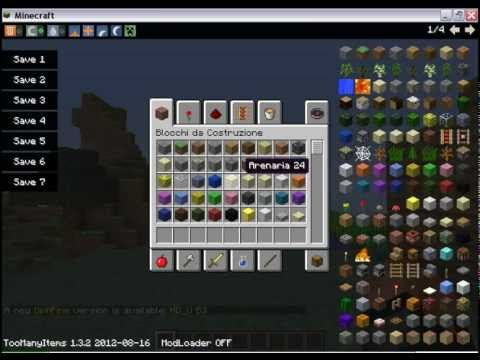 TUTORIAL come scaric too many items 1.3.2