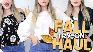 Fall Haul + Try On 2017