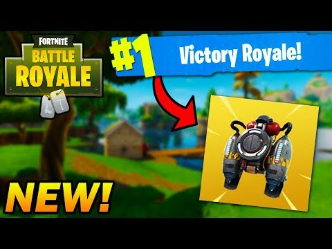 So a NEW Jetpack Item is coming to Fortnite... #LikeForNoExos thumbnail