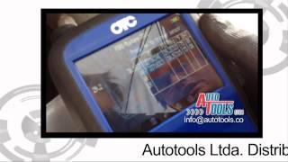 Prueba de Equipo de sensor de presión de ruedas  TPMS OBDII OTC 3838