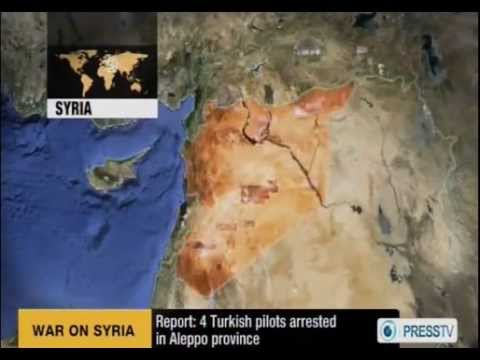 Syria: Four Turkish & Libyan Army Pilots Arrested in Aleppo ~ 31/12/2012