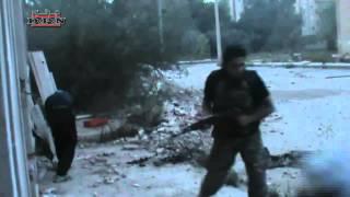 Syria Дараа городские столкновения с армией Осада2 28.05.2013
