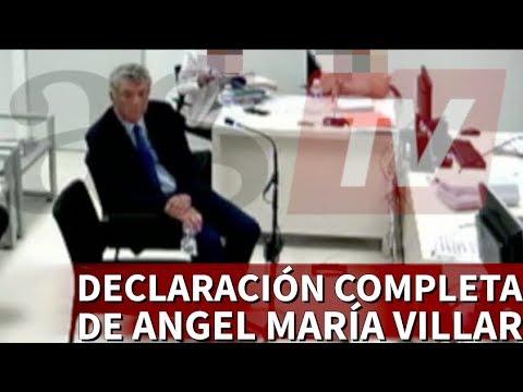 Operación Soule: Declaración completa de Ángel María Villar ante el Juez | Diario AS
