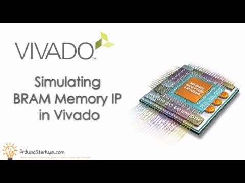 Simulating BRAM memory IP in Vivado Training