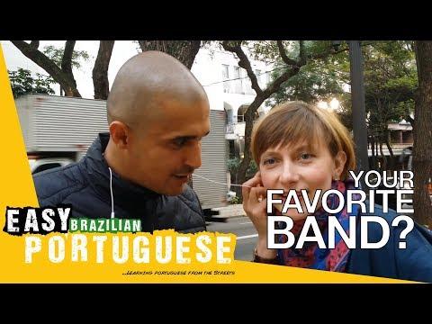 Your favorite band | Easy Brazilian Portuguese 33