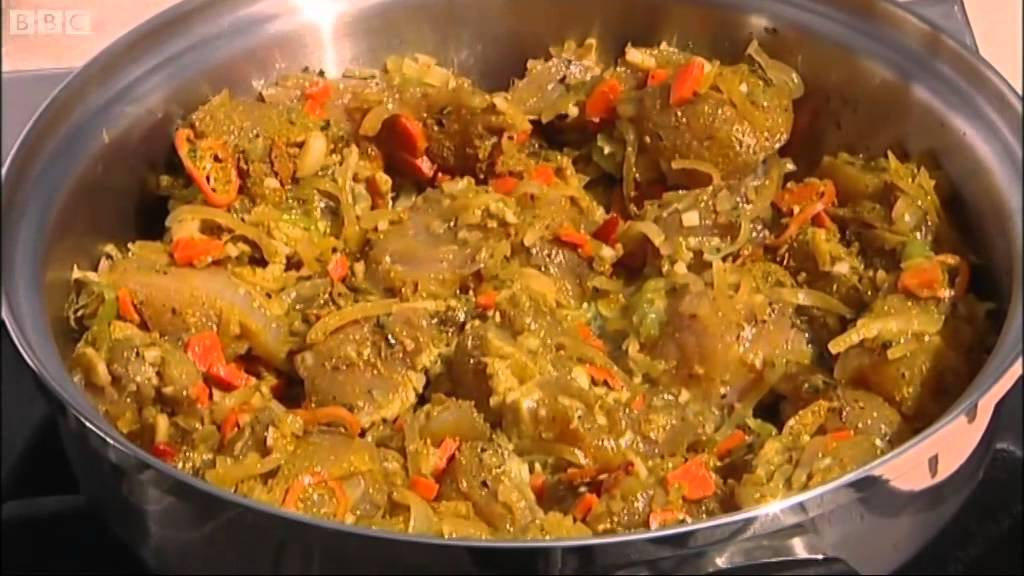 How To Make Rum Curry Chicken Part 1 Rhodes Across The Caribbean