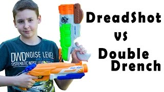 Nerf Super Soaker Double Drench vs DreadShot