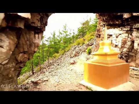 Забайкалье. Природные храмы Алханая (Алханай с квадрокоптера)