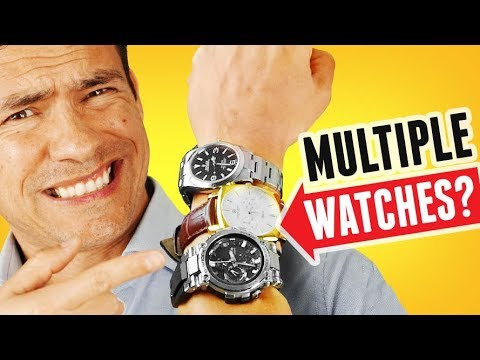 Wear Multiple Watches At The Same Time? Can A Man Wear 2 (Or More) Watches & Be Stylish?