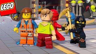 LEGO SCOOBY DOO E LEGO NINJAGO NO MUNDO DO FILME UMA AVENTURA LEGO