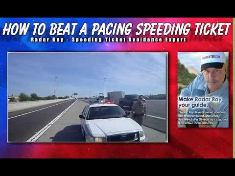 How to Beat a Pacing Speeding Ticket - Radar Roy