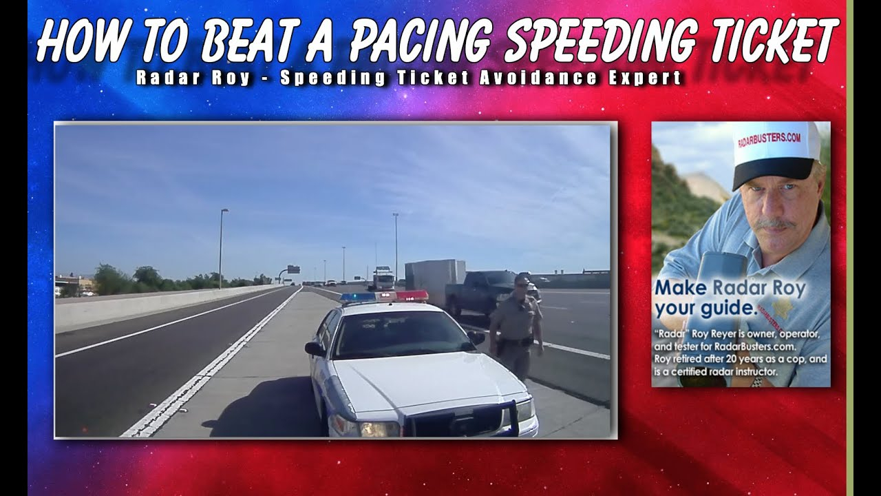 how to beat a pacing speeding ticket radar roy youtube. Black Bedroom Furniture Sets. Home Design Ideas