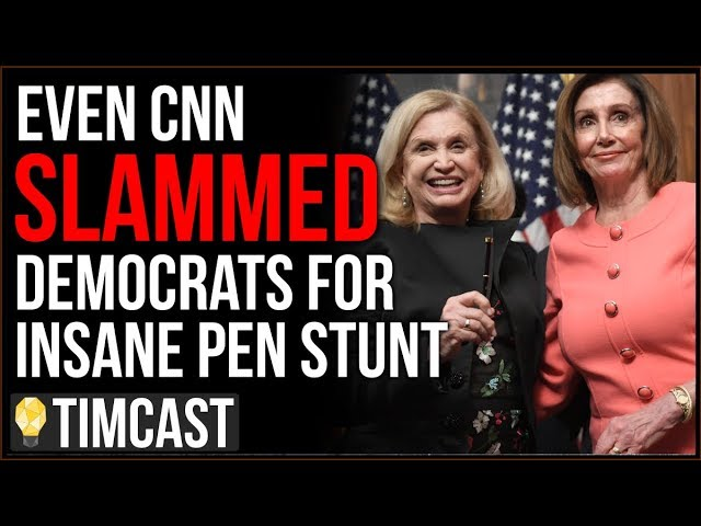 "Even CNN SLAMS Democrats Over Insane ""Pen Stunt,"" Pelosi Is Treating Impeachment Like A Game"