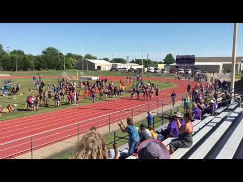 2017 Tulsa 7 Conference 4x400 relay