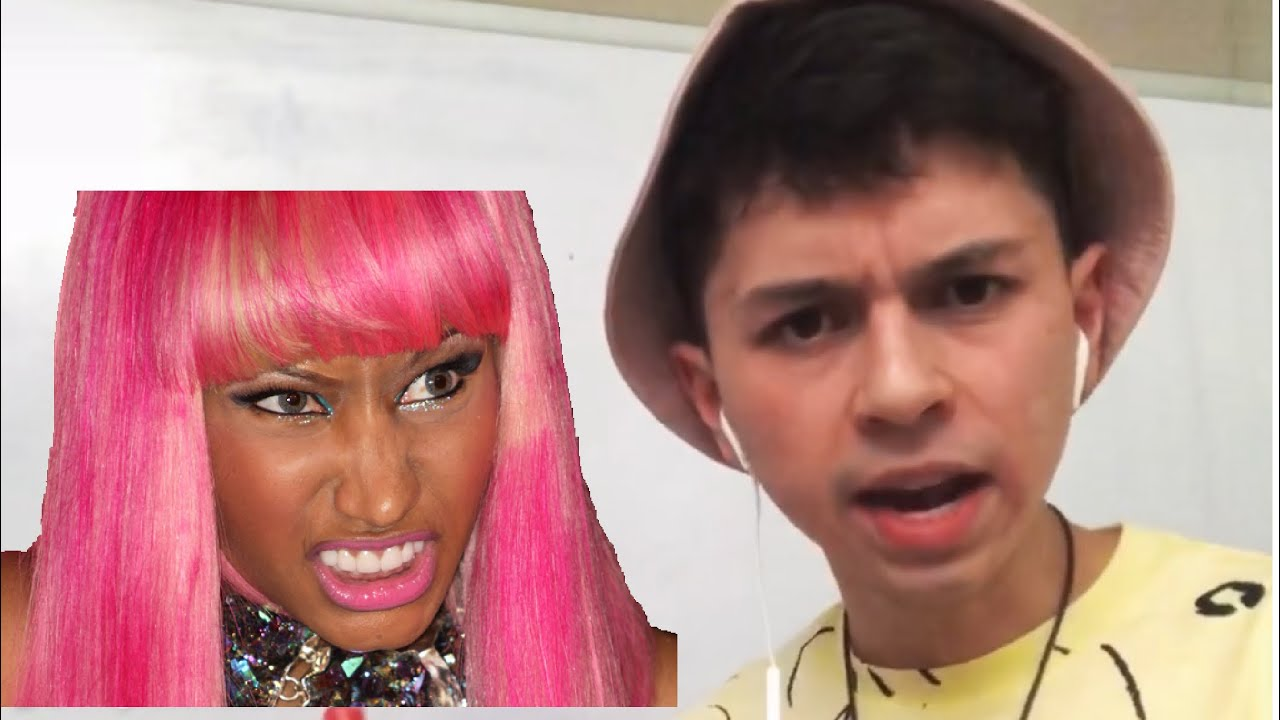 I got possessed by Nicki Minaj..
