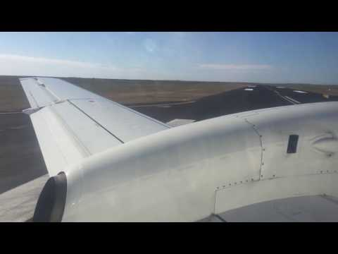 CEDUNA -Adelaide  REX regional express taxi then  take off 23 May 2016